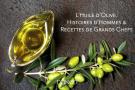 Extra vierge. L'huile d'olive, histoires d'hommes et recettes de grands chefs, d'Emmanuelle Dechelette et Leila Makke, Dunod, 196pages, 29,90euros