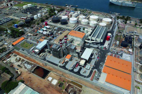 Centrale CIPREL (Compagnie Ivoirienne de Production d'Electricité) à Abidjan
