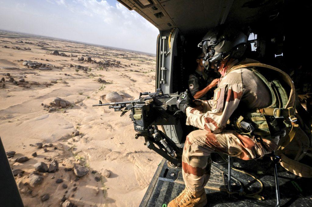 La force Barkhane en action (ici à Kidal, en août).