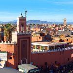 Vue de Marrakech