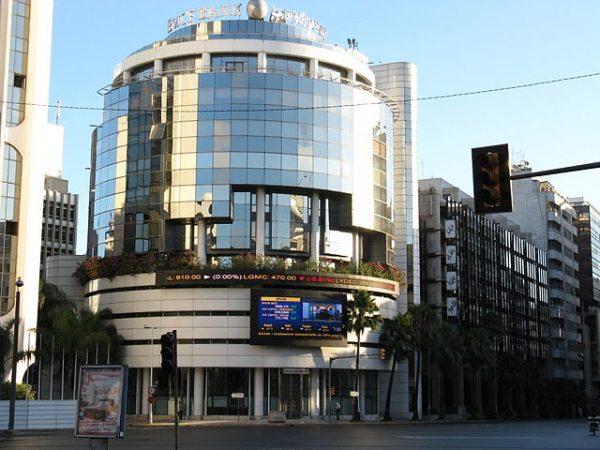 Bank of Africa (BMCE) créé en 1959 et privatisé en 1995, arrive à une période charnière de son existence. Ici, son siège de Casablanca.