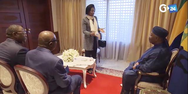 Gabon : Ali Bongo Ondimba a reçu une visite express de hauts responsables