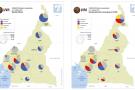 Cartographie de la présidentielle camerounaise du 7 octobre 2018.