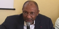 Seidou Mbombo Njoya, alors président de la Fédération camerounaise de football.