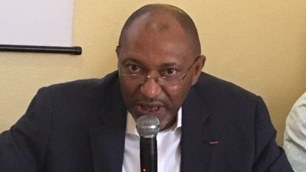 Seidou Mbombo Njoya, le nouveau président de la Fédération camerounaise de football.