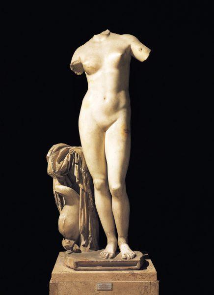 La Vénusde Cyrènea été rendue par l'Italie à la Libye en 2008.