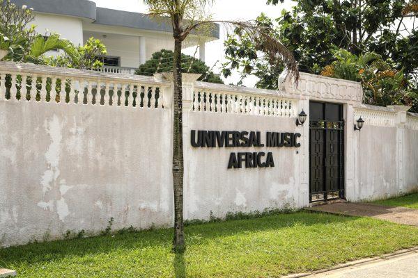 L'antenne d'Universal Music à Abidjan.