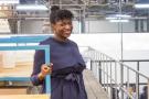L'entrepreneuse Fatoumata Bâ a fondé en 2018 la start-up Janngo, ce qui signifie «Demain» en peul.