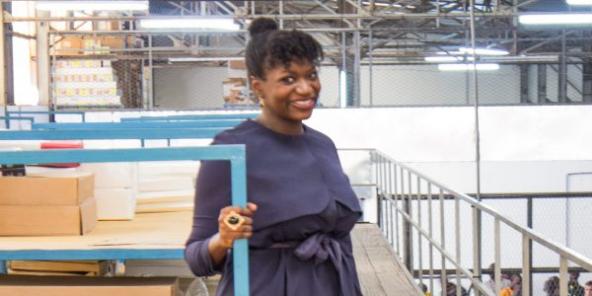 """L'entrepreneuse Fatoumata Bâ a fondé en 2018 la start-up Janngo, ce qui signifie """"Demain"""" en peul."""