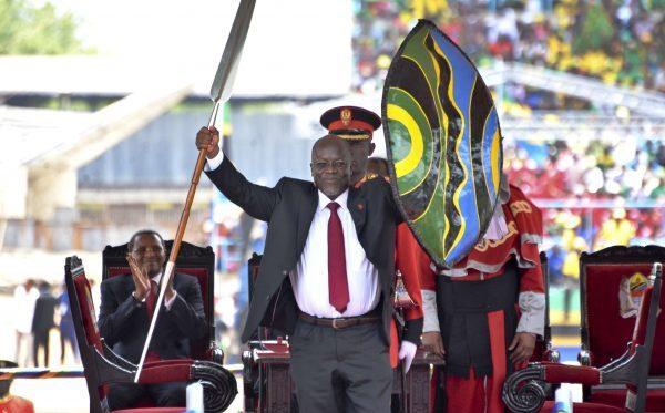 John Magufuli en juillet 2015.