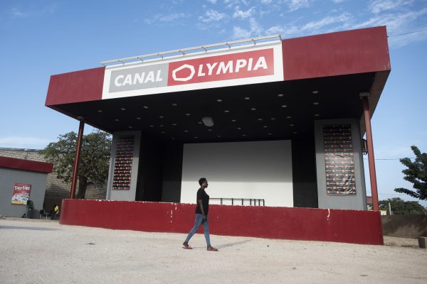 Cinema Canal Olympia Teranga à Dakar.