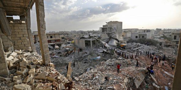 La ville de Zardana, dans la province d'Idlib, en Syrie, le 8juin.