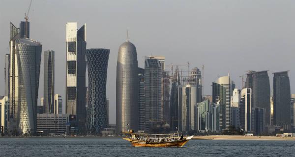 La baie de Doha, au Qatar, en 2011.