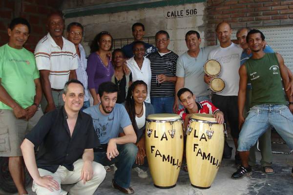 Les Afro-Argentins forment une grande famille, à Ciudad Evita, près de Buenos Aires.