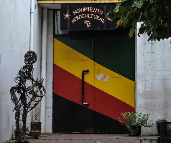 Les portes closes de l'association fermée par la ville de Buenos Aires depuis novembre 2017.