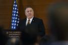 Le secrétaire d'État Mike Pompeo s'adresse à des étudiants de l'université américaine du Caire, le 10 janvier.