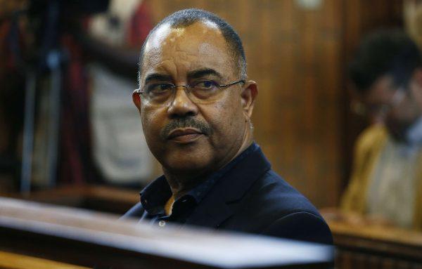 Manuel Chang, ancien ministre mozambicain des Finances, au tribunal de Kempton Park, Johannesburg, le 2 janvier 2019.