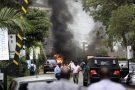 Dans une rue de Nairobi, à proximité du complexe DusitD2, frappé par une attaque revendiquée par les shebabs, le 15 janvier 2019.