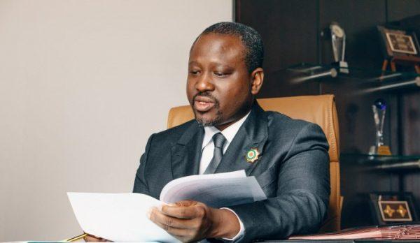 Guillaume Soro a démissionné de l'Assemblée nationale le 8 février 2019.