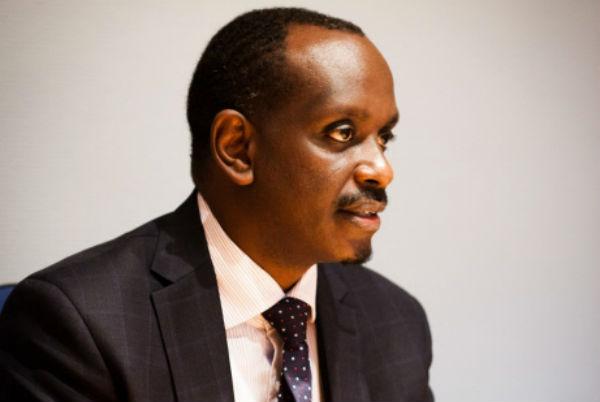 Richard Sezibera, ministre rwandais des Affaires étrangères, ici en 2012 à Paris (Archives).