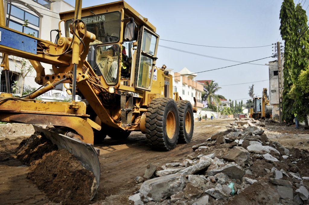 Lancement des travaux dans le quartier Haie-Vive de Cotonou, début janvier.