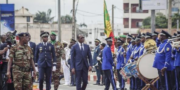 Le président béninois Patrice Talon, en août 2018 à Cotonou.