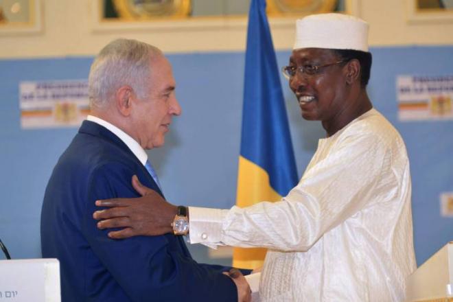 Benjamin Netanyahu se félicite de la reprise des relations diplomatiques entre Israël et le Tchad à N'Djamena
