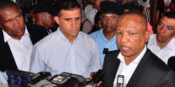 Christian Ntsay, Premier ministre de Madagascar, ici en juillet 2018.