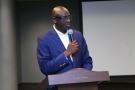 Le ministre de la Justice rwandais Johnston Busingye.