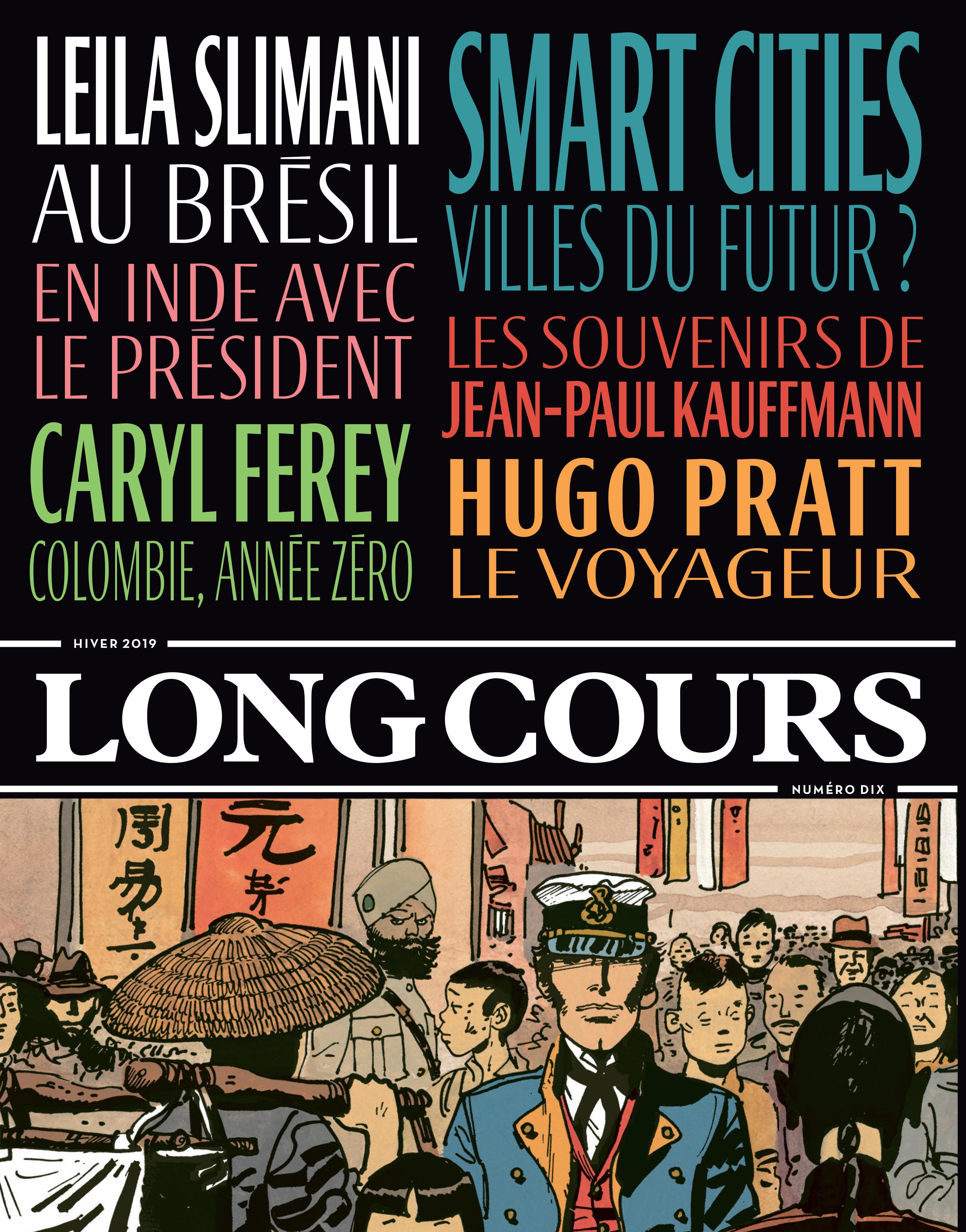 Couverture de la revue n°10 de Long Cours.