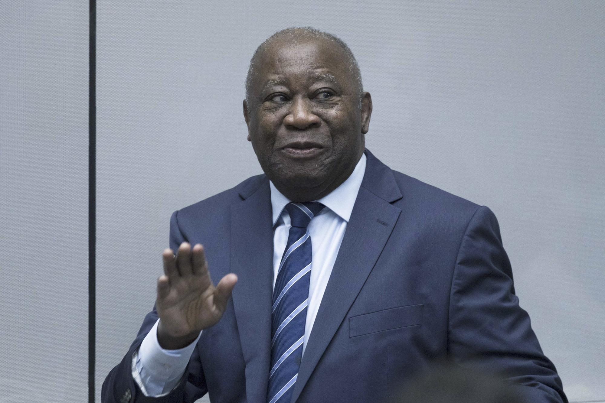 L'ancien président ivoirien lors d'une audience à la CPI (archives).