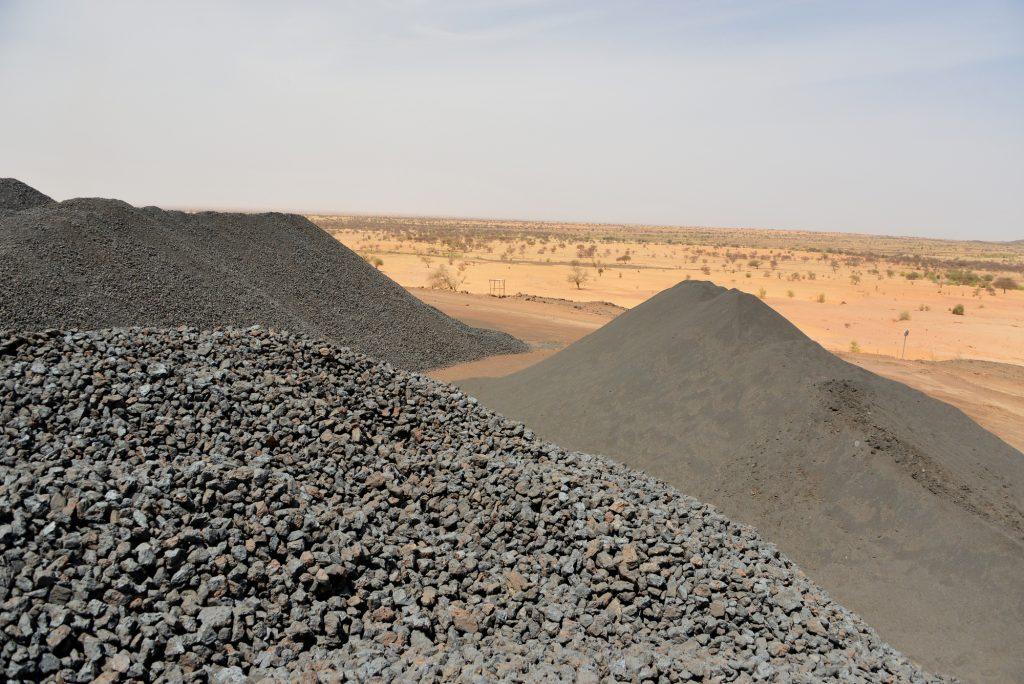 Les réserves de manganèse de Tambao sont estimées à 55millions de tonnes.