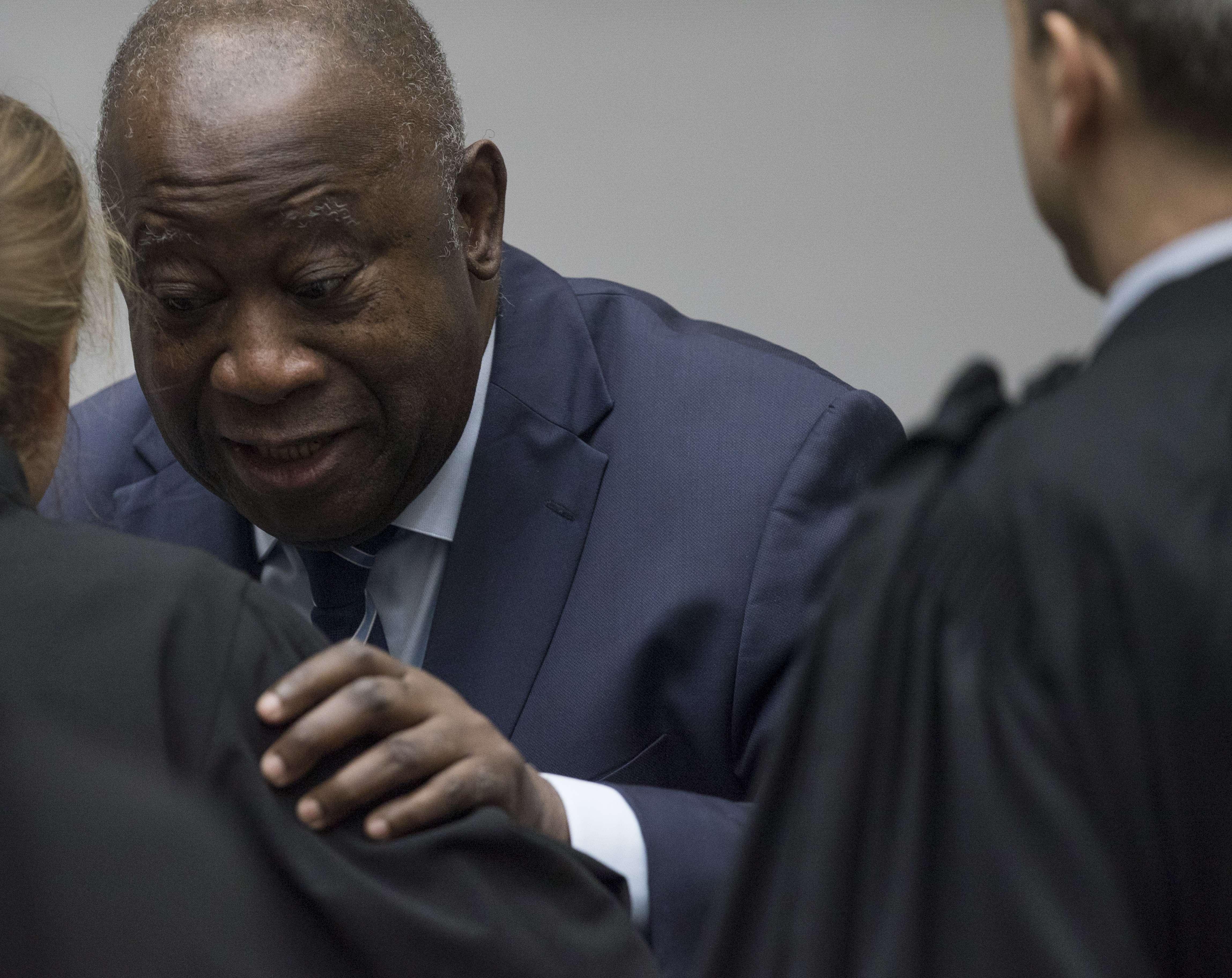 Laurent Gbagbo, à la CPI le 15 janvier 2019.