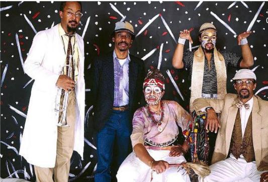 L'Art Ensemble of Chicago, en 1987.