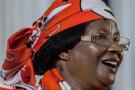 L'ancienne présidente du Malawi Joyce Banda, le 30 août 2018.