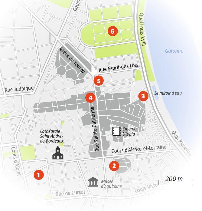 Les visites guidées de l'association Mémoires & Partages à Bordeaux.