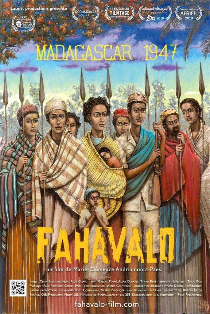 Fahavalo, Madagascar 1947, de Marie-Clémence Andriamonta-Paes, sorti le 30janvier