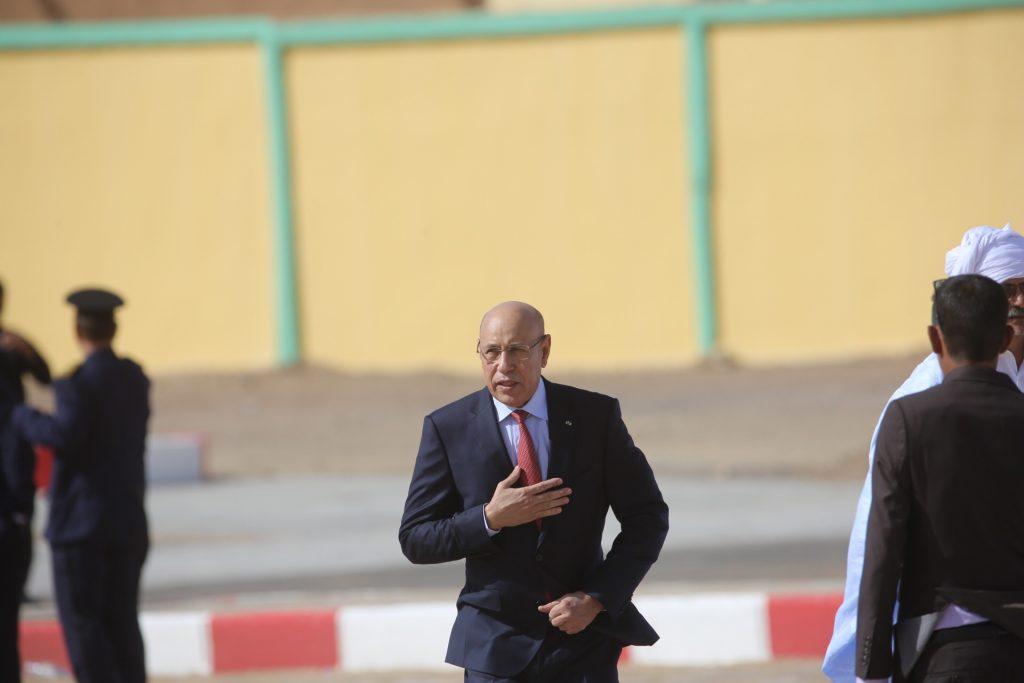 Le président mauritanien Mohamed Ould Ghazouani.