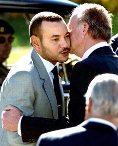 Mohammed VI et Juan Carlos, le 20 septembre 2000 à Madrid.