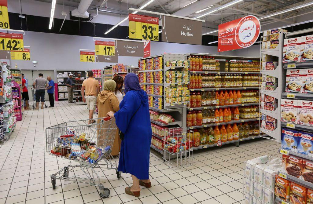 Un Carrefour Market de Label'Vie, à Essaouira, au Maroc.