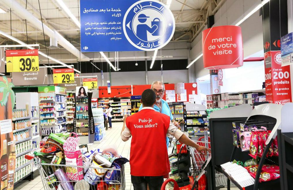 Le groupe, avec ses 87 magasins (185000 m2 de surface de vente), compte en ouvrir chaque année une vingtaine dans le pays. Ici, le Carrefour Market d'Essaouira.