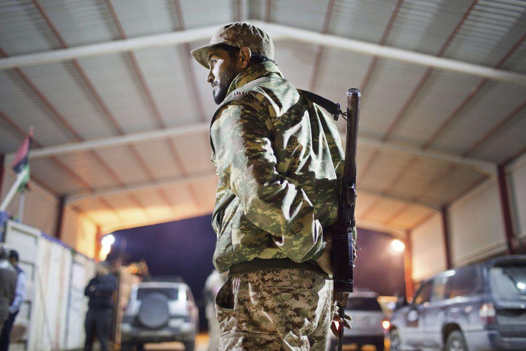 Un militaire libyen à Sirte, en février 2015. Photo prise par Mohamed Ben Khalifa, qui a été tué le 19 janvier 2019.