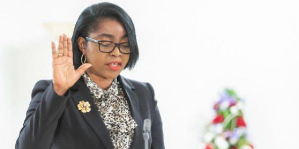 Rose Christiane Ossouka Raponda.