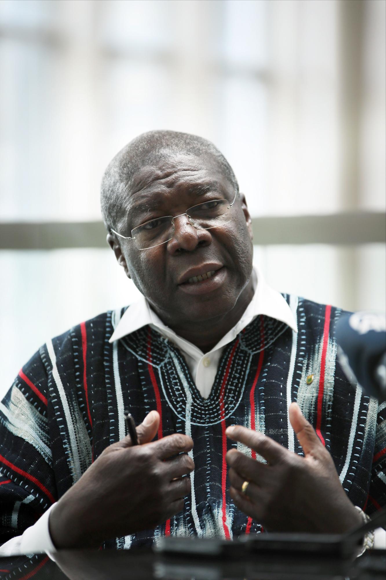 Thomas Kwesi-Quartey à Ankara, le 25mai 2018.