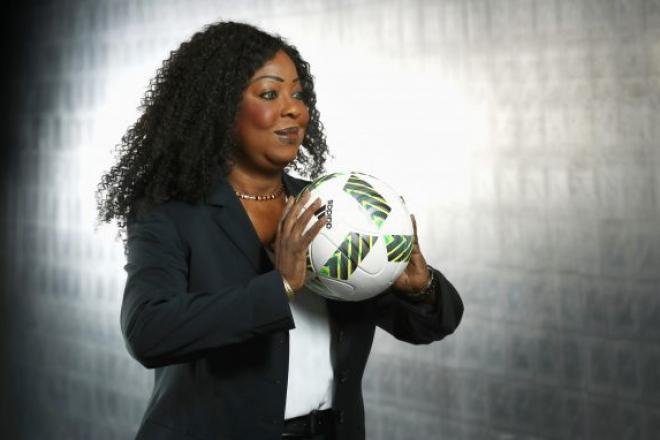 Football : Fatma Samoura bientôt sur le banc de touche de la Fifa ?