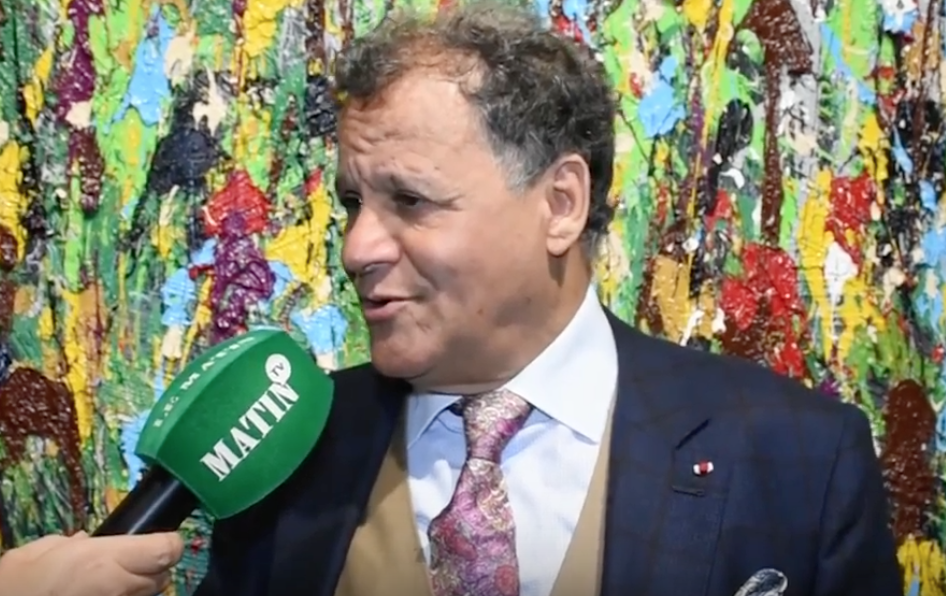 Mehdi Qotbi, président de la Fondation nationale des musées.