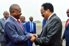 Le président burundais Pierre Nkurunziza et son homologue somalien Mohamed Abdullahi Mohamed, le 18 février à Bujumbura.