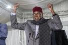 Abdoulaye Wade, le 13 février 2019 lors du comité directeur du PDS, à Dakar.