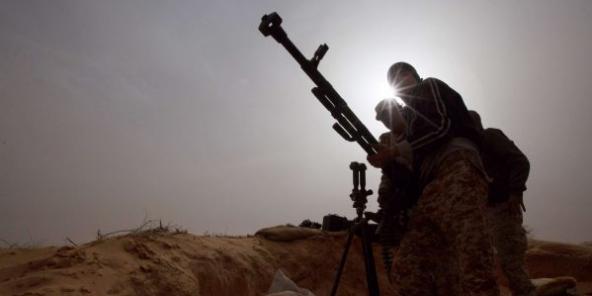 Des combattants libyens dans l'Est, en 2015 (photo d'illustration).