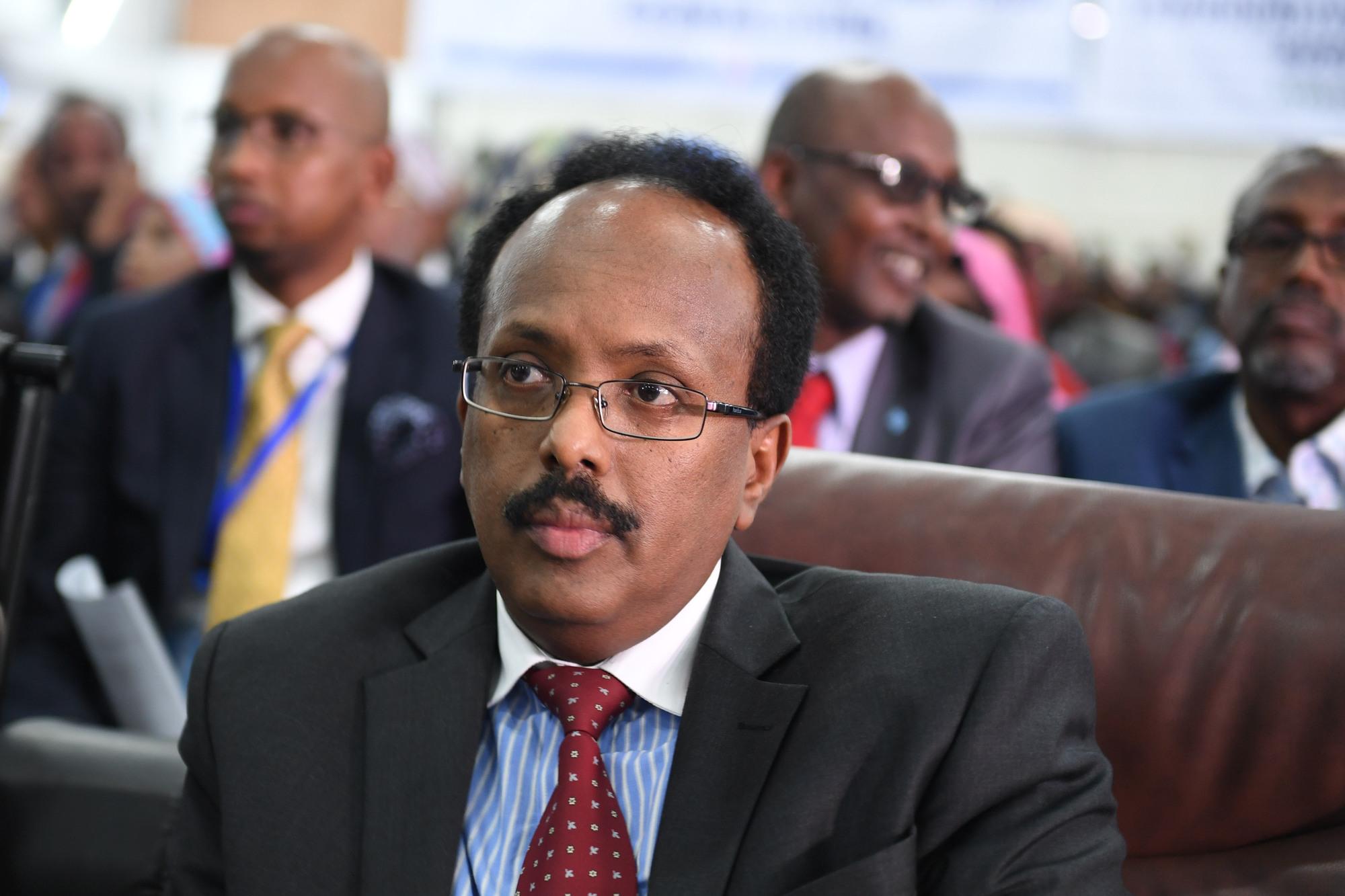 Mohamed Abdullahi Mohamed, le président de la somalie.